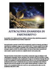Meditacija, Astrološka znamenja in partnerstvo,