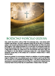 Meditacija, Božično voščilo Jezusa,