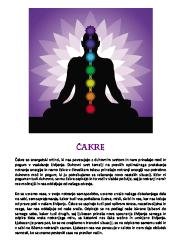 Meditacija, Čakre,