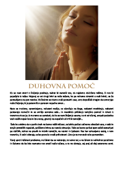Meditacija, Duhovna pomoč