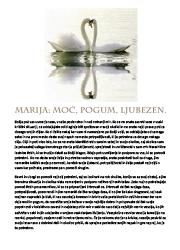 Meditacija, Marija