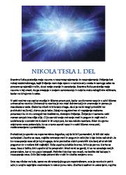 Meditacija, Nikola Tesla,